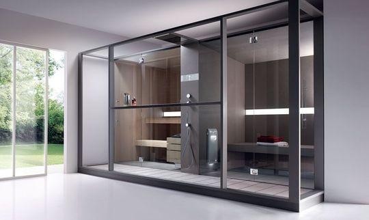 Domowa sauna inspiracje pomysly jak zaprojektowac rodzaje for Salle de bain style hammam
