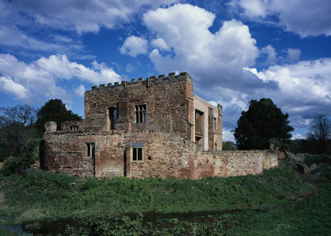 Zamek Astley, Warwickshire, Anglia.