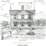 "Projekt domu ""Vineland""."