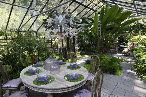 ogr d zimowy dobrodziejstwo szklarni patio i tarasu w. Black Bedroom Furniture Sets. Home Design Ideas