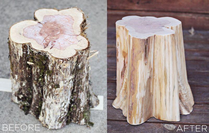 domowe_DIY_zrob_to_sam_drewniane_stoliczki_stolki_na_kolkach_z_pnia_pomysl_na_1