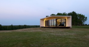 Projekt domu modularnego.