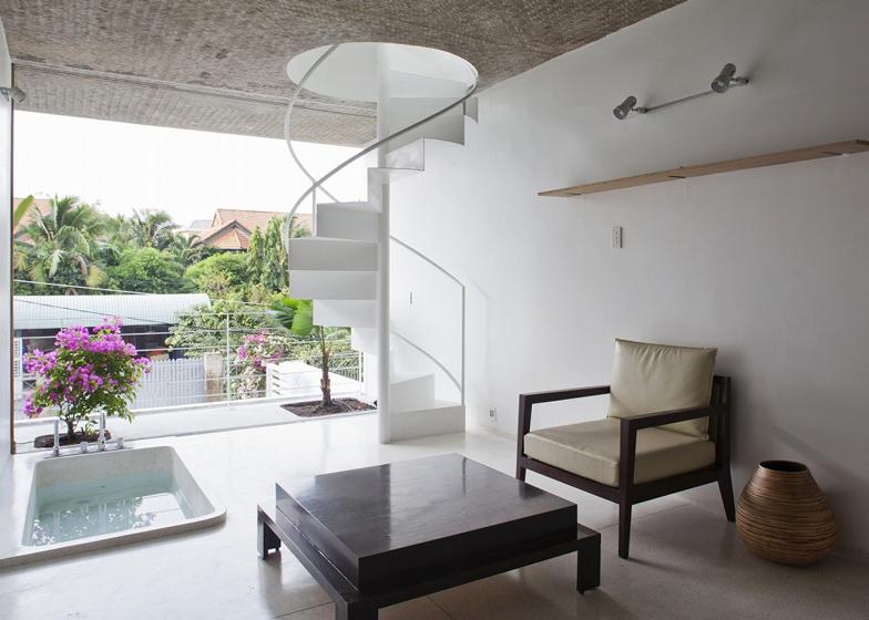 wąski_dom_Otwarta, jasna przestrzeń to dla większości Wietnamczyków nowość.