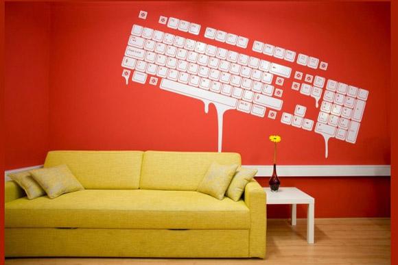 Creative Studio 3FS. Poczekalnia urządzona prosto, w trzech ciepłych kolorach, o jednym elemencie dekoracyjnym, który przykuwa uwagę_nowoczesne_biuro_6
