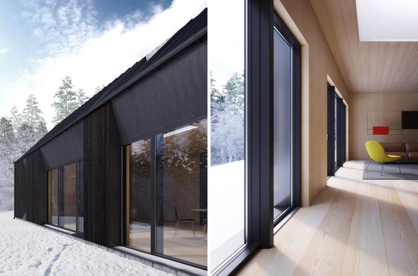 Projekt zaciera granice między wnętrzem a zewnętrzem_dom_prefabrykowany_8
