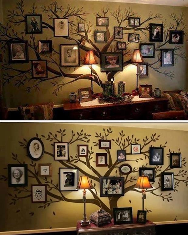 DIY_architekta_zrób_to_sam_pomysly_wnetrza_dekoracja_sciany_zdjecia_aranzacje_drzewo_genealogiczne