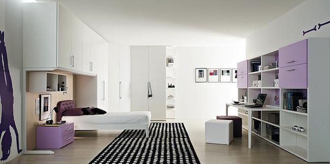 projekt na jak urz dzi pok j dla nastolatki dziewczyny. Black Bedroom Furniture Sets. Home Design Ideas