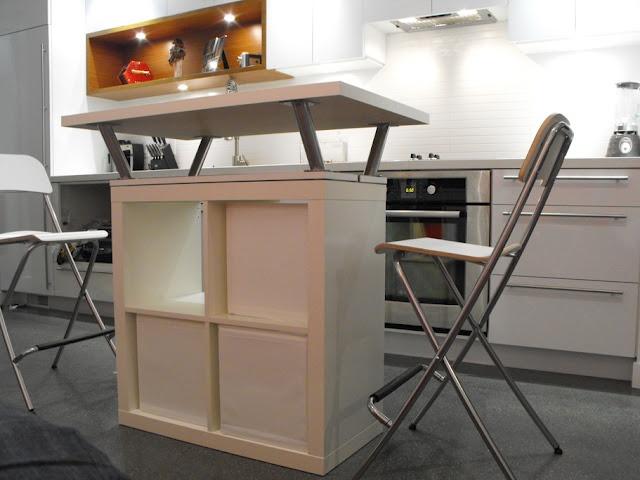 Przeno na wyspa w kuchni 20 pomys w - Practical movable island ikea designs for your small kitchen solution ...