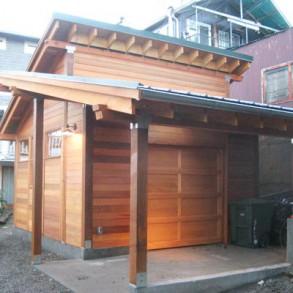A może garaż drewniany?