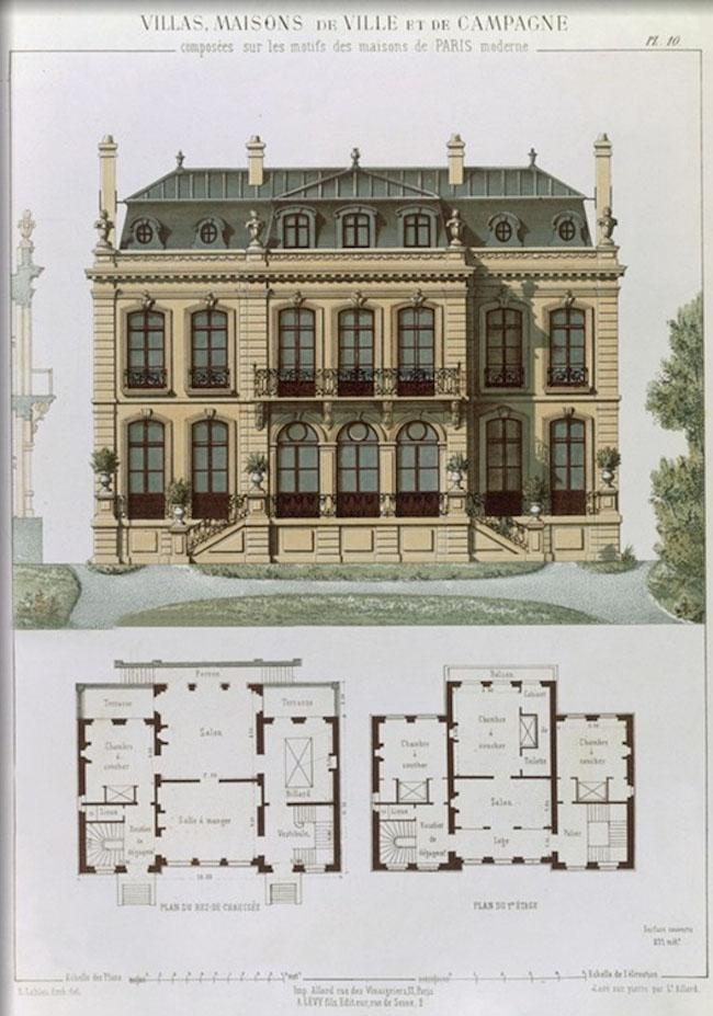 historyczne_wille_francuskie_kamienice_projekty_rzuty_przekroje_budynki_willi_francuskich_1