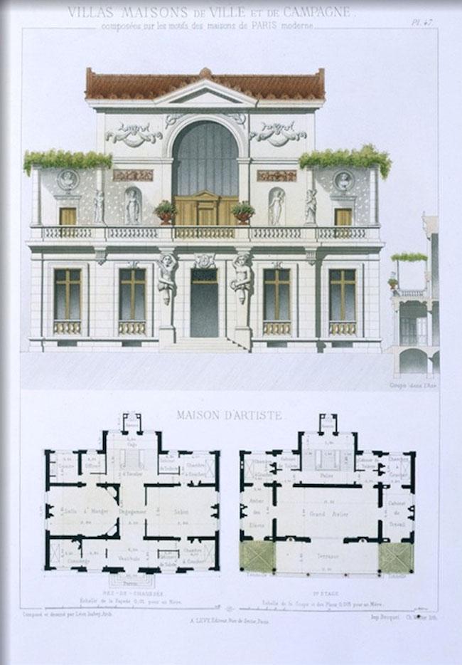 Historycznie Ep 5 Sześć Willi Francuskich Projekty Plany
