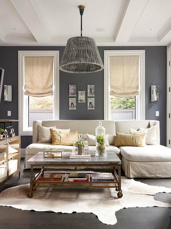Ciemny kolor w salonie dodaje mu elegancji i szyku_czarny_we_wnętrzu_