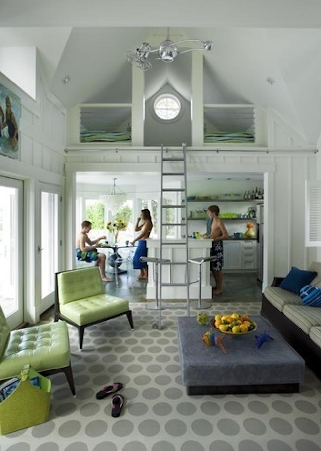 Modny nowoczesny i ma y dom 20 pomys w - Small lake house interiors ...