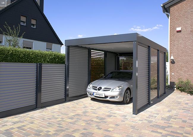 nowoczesna wiata zadaszenie miejsce postojowe dla auta. Black Bedroom Furniture Sets. Home Design Ideas