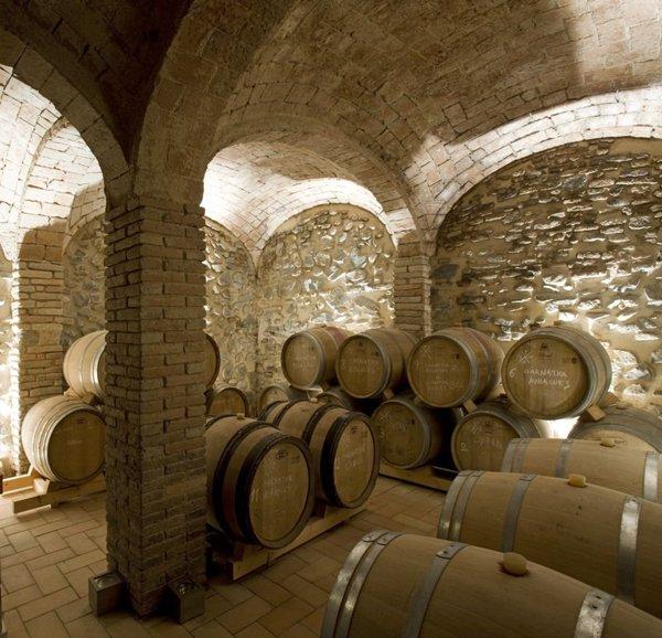 Piwnica na wino.
