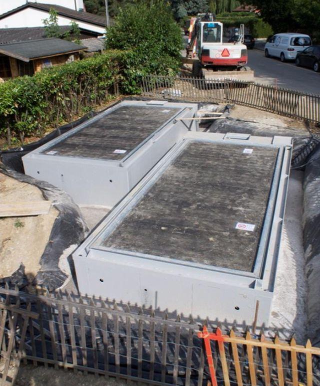 garaz nowoczesny podziemny hydrauliczny dla domow jednorodzinych budowa