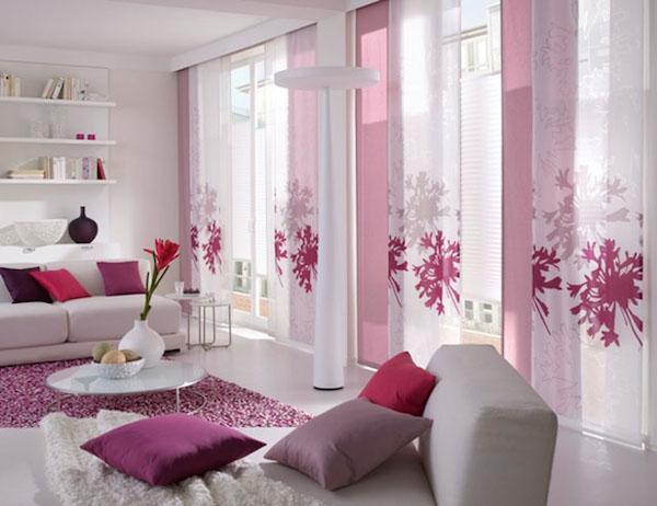 Jak stosowac kolory we wnetrzu jaki kolor wybrac rozowy for Tende moderne x salone