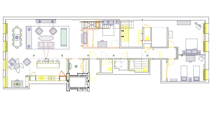Dumbo-Robertson-Pasanella-lofty-projekty-design-przebudowa-rzut-plan