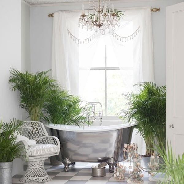 tropikalna łazienka
