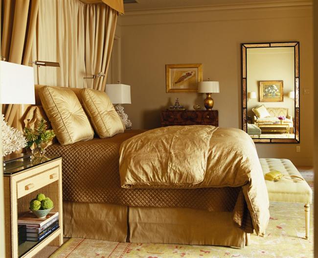 Jak stosowac kolory we wnetrzu aranzacje kolorem zloty for Bedroom ideas red and gold