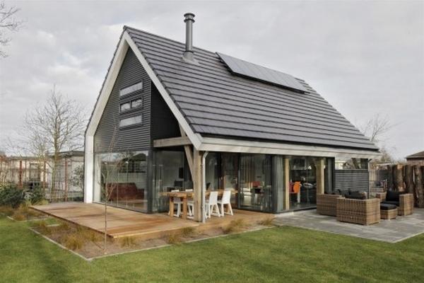 Nowoczesny modny dom z dachem dwuspadowym to mo liwe ep 3 for Casa moderna hlandia