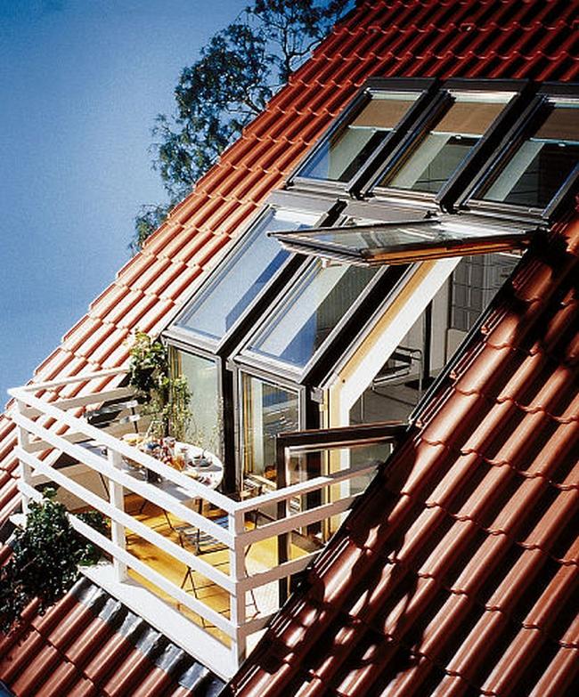 attic skylight ideas - okna dachowe zastosowanie modne wnetrze polaciowe