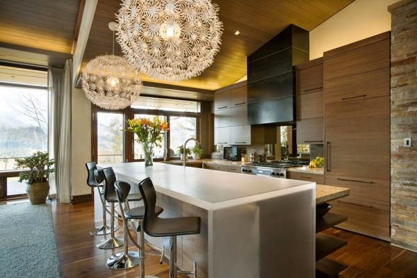 Unique Pendant Light Kitchen Island With Bar Stool Wrights Road House