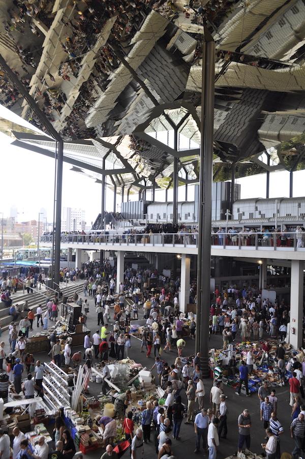 Hala targowa w Barcelonie-Plaza Glories Sant Marti-dlaczego place targowe sa wazne dla miasta-2