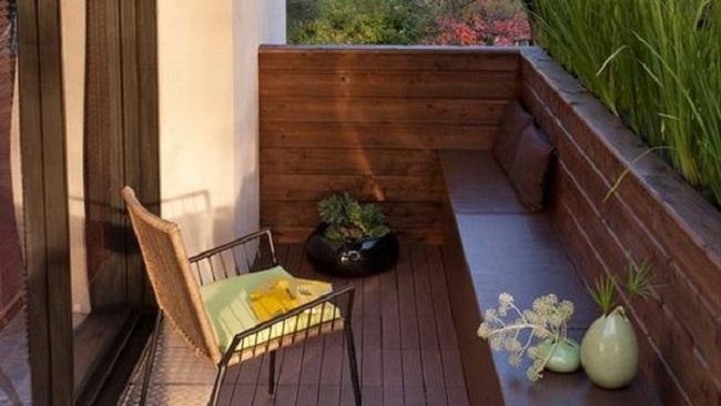 Сделайте ваш маленький балкон уютным местом!.
