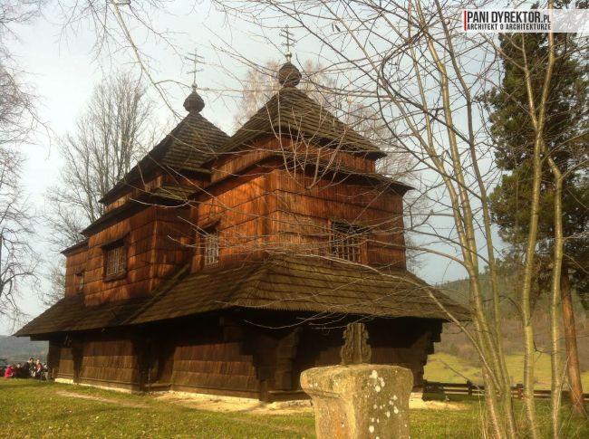 cerkiew w smolniku cerkiew drewniana kryta gontem zabytki polskie blog architektoniczny smolnik 12 copy