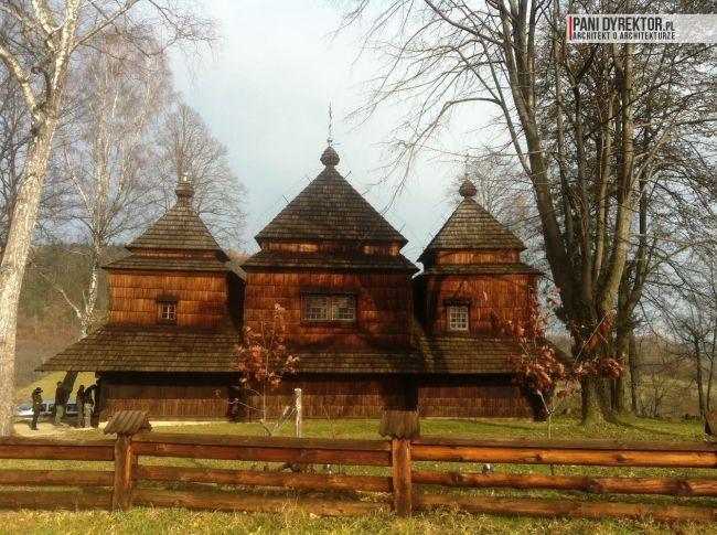 cerkiew w smolniku cerkiew drewniana kryta gontem zabytki polskie blog architektoniczny smolnik 13 copy