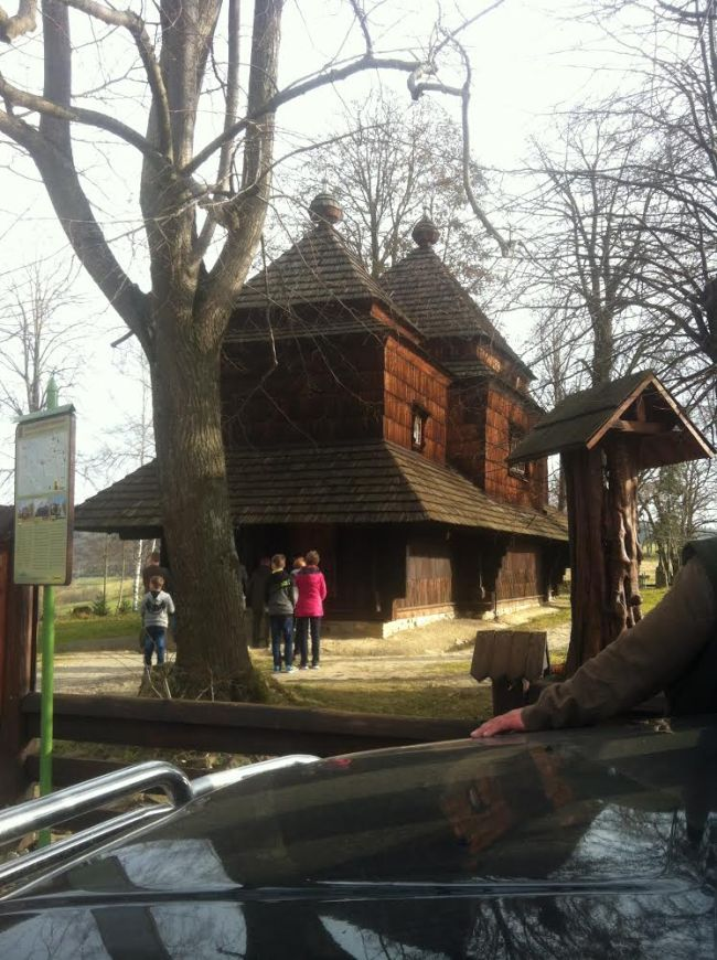 cerkiew w smolniku cerkiew drewniana kryta gontem zabytki polskie blog architektoniczny smolnik 14copy