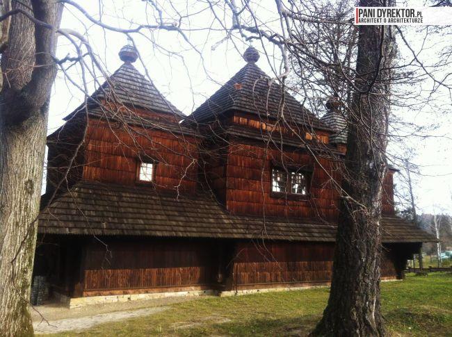 cerkiew w smolniku cerkiew drewniana kryta gontem zabytki polskie blog architektoniczny smolnik 2 copy