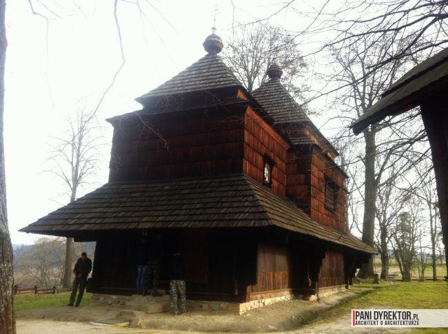 cerkiew w smolniku cerkiew drewniana kryta gontem zabytki polskie blog architektoniczny smolnik 3 copy