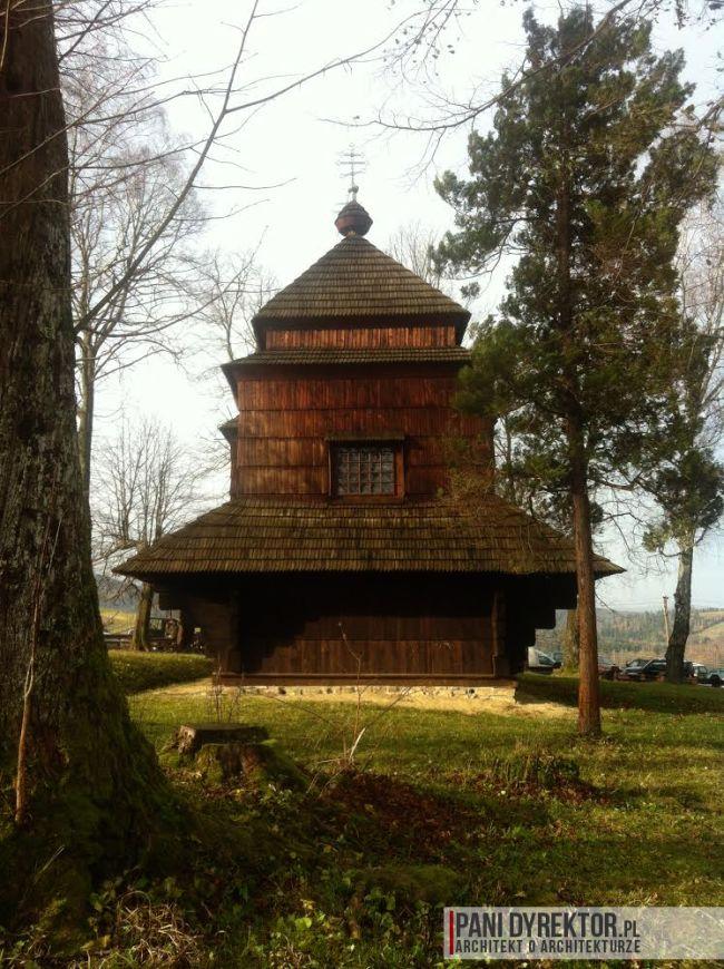 cerkiew w smolniku cerkiew drewniana kryta gontem zabytki polskie blog architektoniczny smolnik 9 copy