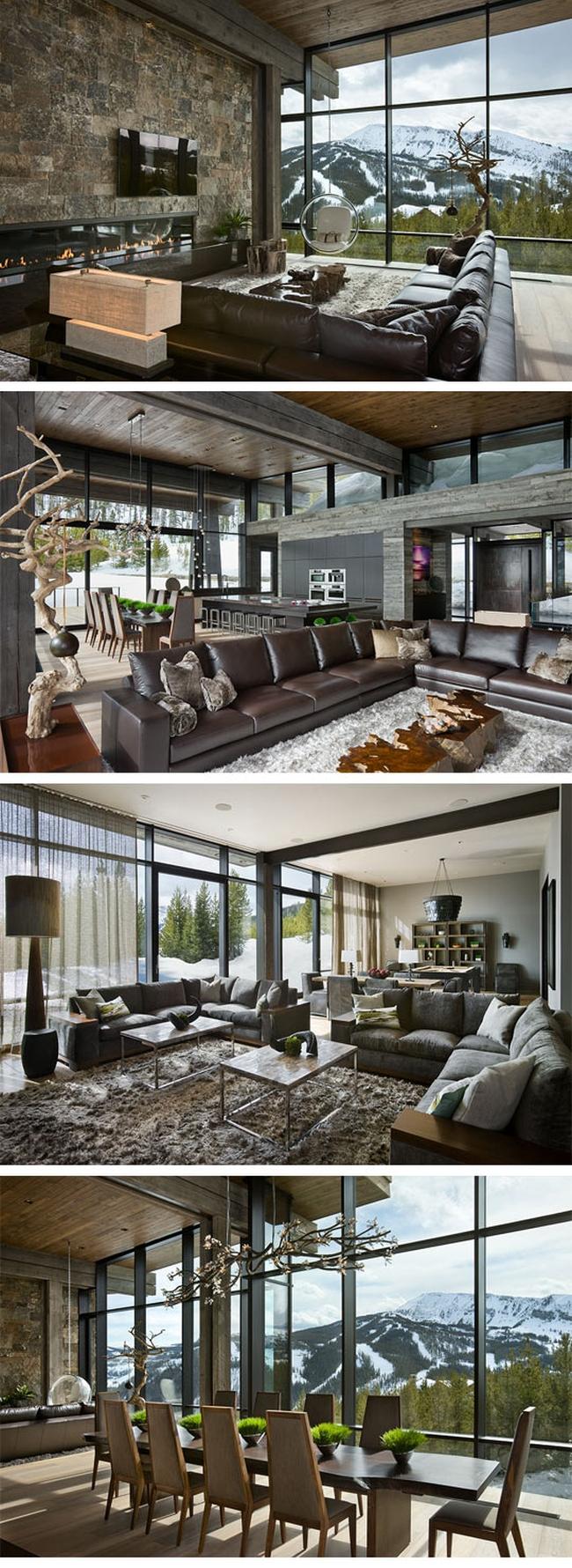 wspaniale-wille-drewniane-nowoczesne-domy-gorskie-lesne-dla-mysliwego-milosnika-lasu-przyrody-2