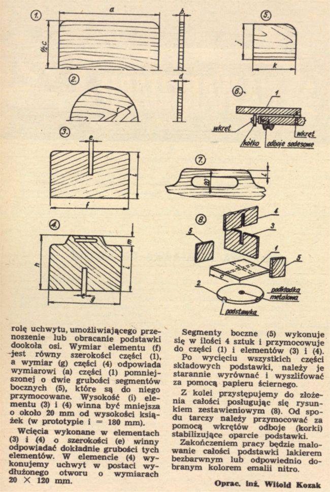 Młody TECHNIK-DIY-Zrób to sam sprzed 40lat_Designerska-obrotowa-biblioteczka2