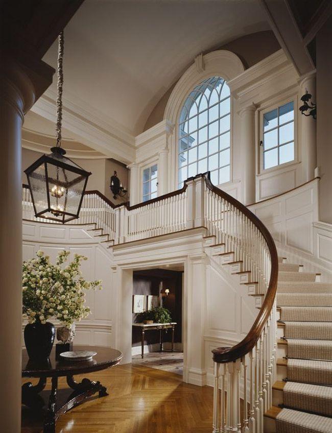 Foyer Grand Large Perpignan : Reprezentacyjne schody willa palac duzy dom jak projektowa