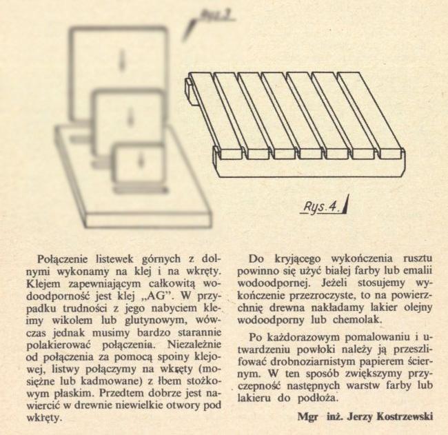 Drewniana ociekarka- DIY-MŁODY TECHNIK-Zrób to sam sprzed 40lat- Ep6z2001