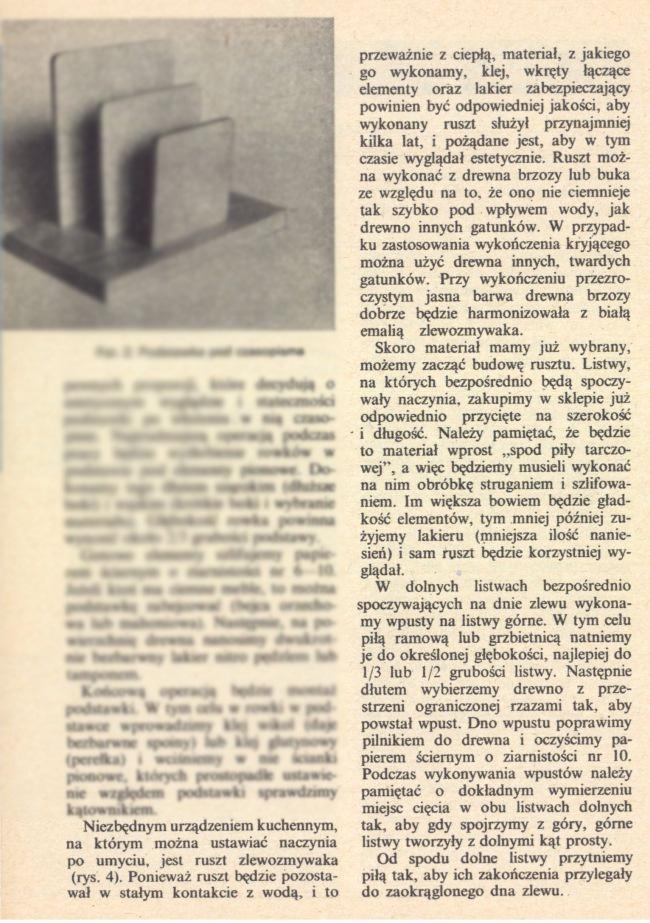 Drewniana ociekarka- DIY-MŁODY TECHNIK-Zrób to sam sprzed 40lat- Ep6z2002