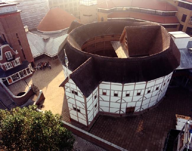 Teatr szekspirowski (elżbietański) - trochę histori-the globe01