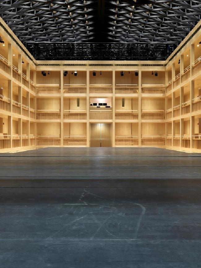 Teatr szekspirowski (elżbietański) - trochę historii-projekt i realizacja w Gdańsku06