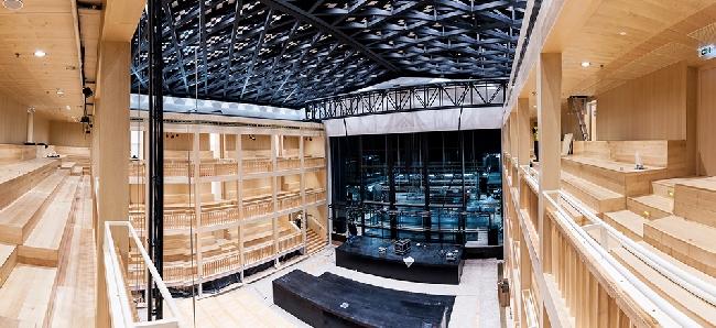 Teatr szekspirowski (elżbietański) - trochę historii-projekt i realizacja w Gdańsku16
