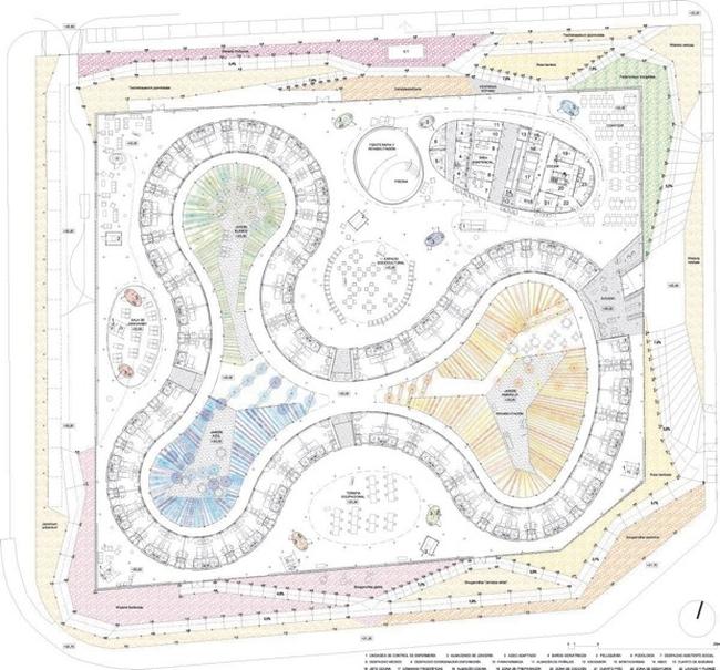 Domy spokojnej starosci moga tez zachwycac - nowoczesna architektura i nowoczesny obiekt-santa rita-nursing home02