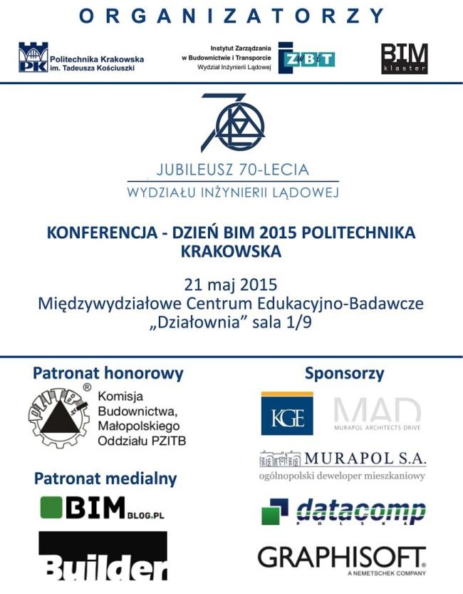 Konferencja BIM 2015 na Politechnice Krakowskiej2