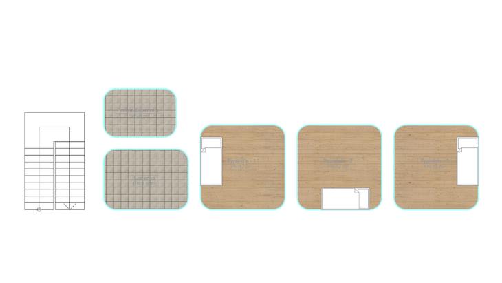 przykładowy schemat pomieszczeń