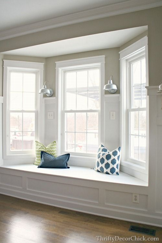 Wykusz okno wykuszowe bay window ameryka skie wn trza for Box bay window kitchen