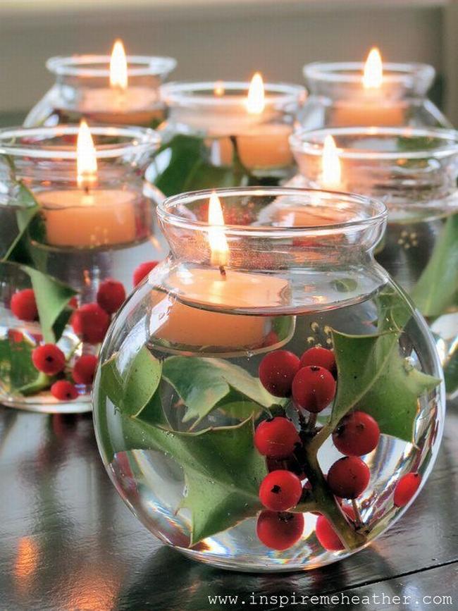 Dekoracje świąteczne - 15 najprostszych pomysłów świątecznych dekoracji 125