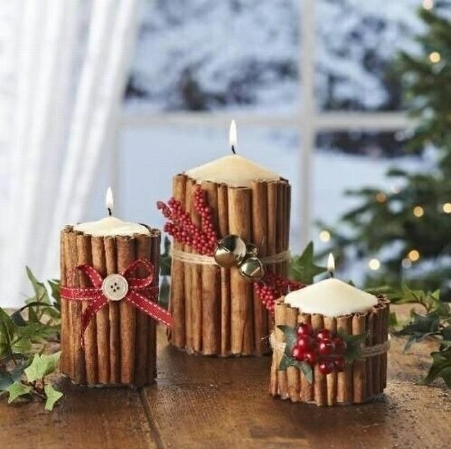 Dekoracje świąteczne - 15 najprostszych pomysłów świątecznych dekoracji 139