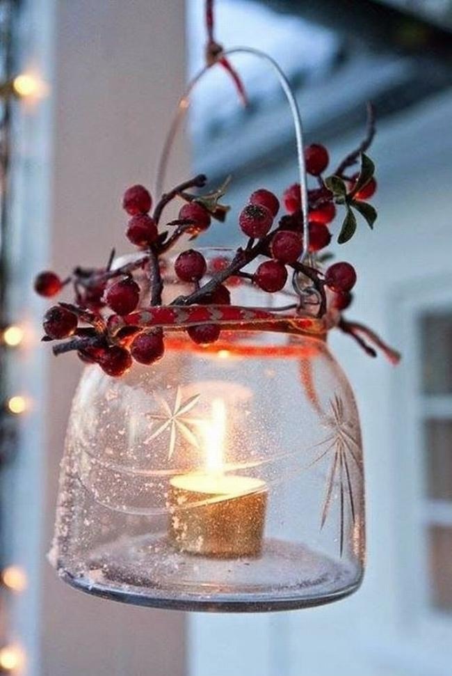 Dekoracje świąteczne - 15 najprostszych pomysłów świątecznych dekoracji 195